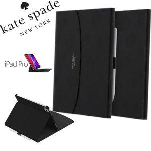 "KATE SPADE Black Folio 11"" iPad PRO Magnetic Case"